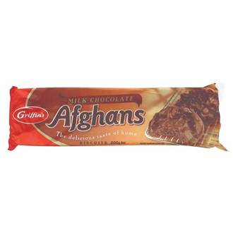 Griffins Milk Chocolate Afghans
