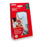Apli 07013 Strung Tickets 36x53mm White 100bag