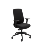 Buro Vela Executive Chair, Nylon Base, with Arms