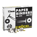 Esselte Paper Binders 13mm Box 200