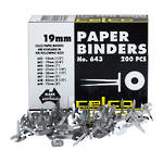 Esselte Paper Binders 19mm Box 200