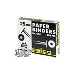 Esselte Paper Binders 25mm Box 200