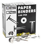 Esselte Paper Binders 63mm Box 100