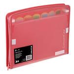 ColourHide®Expanding File Zip It PP Assorted Colours