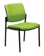 CS Venice Linea Chair Black 4 Leg