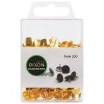 Dixon Drawing Pins Brass Pk200