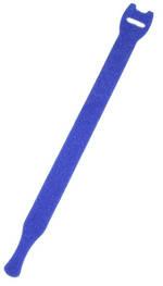 Hook & Loop Cable Tie 200mm Blue or Red
