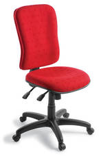 EOS Tempo Chair 3 Lever High Back Quantum Fabric