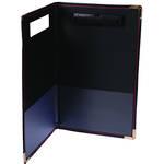 Esselte Supertuff Clipboard Folder Foolscap Black