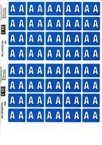 C Ezi Alphabetic Labels A