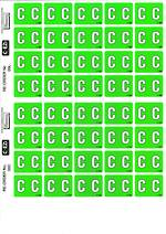 C Ezi Alphabetic Labels C