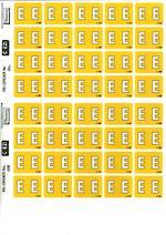 C Ezi Alphabetic Labels E