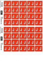 C Ezi Alphabetic Labels J