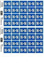C Ezi Alphabetic Labels N