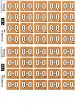 C Ezi Alphabetic Labels Q