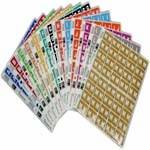 C EZi A-Z Set of Alpha Labels