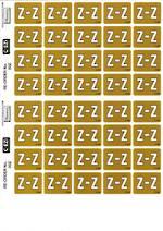 C Ezi Alphabetic Labels Z