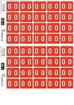 C Ezi Numeric Labels 0