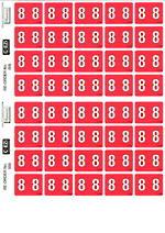 C Ezi Numeric Labels 8
