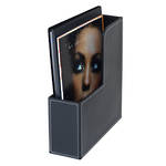 Jastek Faux Leather Magazine File * Discontinued *