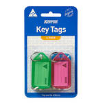 Kevron ID5 Keytags Assorted Packet of 4