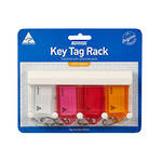 Kevron ID9 Keytags Rack with 4 Tags
