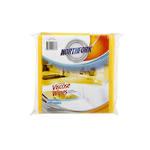 Northfork Viscose Wipes Heavy Duty Yellow Pkt 5