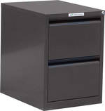 Precision Classic 2 Drawer Vertical File Cabinet Quick Ship Colour