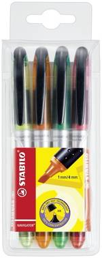 Stabilo Navi Highlighter Set of 4
