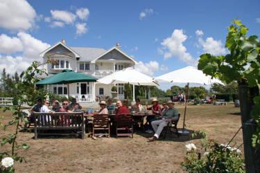 Vynfields Wine Bar, Café, Accommodation