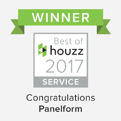 Best of Houzz Service 2017 Winner Panelform