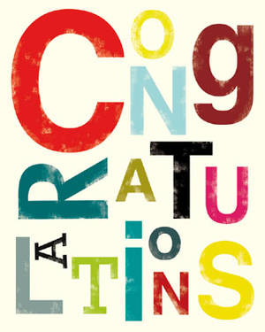 Congratulations Card Ink Press