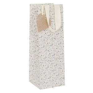 Bottle Gift Bag Paper Salad Hearts