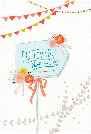 Engagement Card Hallmark Forever That Way