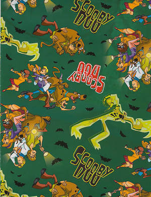 Folded Wrapping Paper Scooby Doo