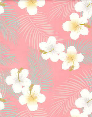 Folded Wrapping Paper Tropical