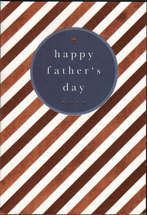 Father's Day Card Wish Bronze