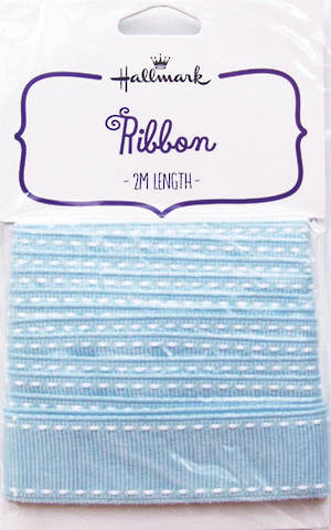 Fabric Ribbon Light Blue