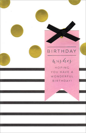 Her Birthday Card Wishes