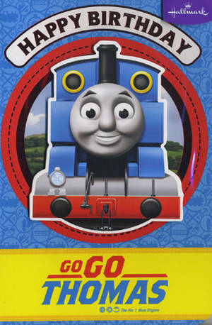 Kids Birthday Card Boy Thomas the Tank Engine