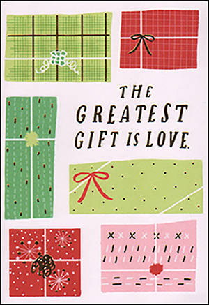 Chirstmas Card Greatest Gift