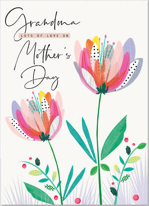 Mother's Day Card Grandma Rio Brights