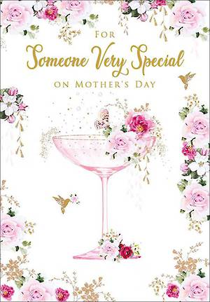 Mother's Day Card Someone Special Cocktail