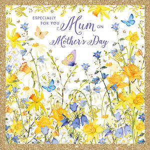 Mother's Day Card Daffodils Spring Floral