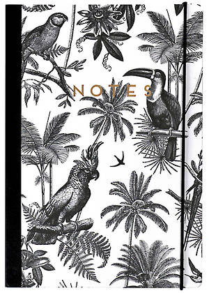 Alice Scott B5 Tropical Notebook
