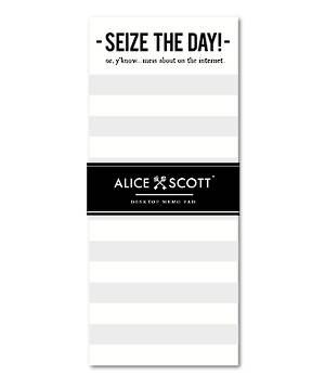 Magnetic Notepad Alice Scott