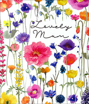 Mother's Day Card Delphine Lovely Mum
