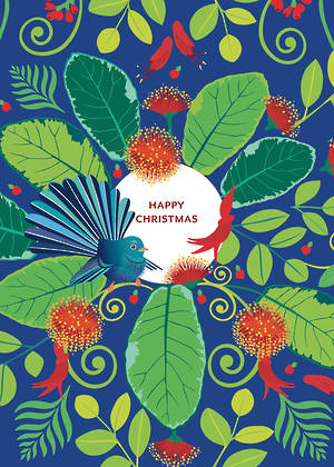 Chirstmas Card Marigold Janezic Tui Colourful