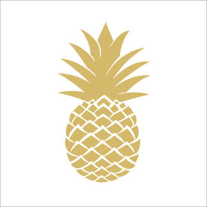 Lunch Paper Napkins Golden Pineapple