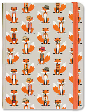 Medium Journal Dapper Foxes